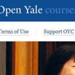 Open Yale Courses ofrece acceso libre y gratuito a una selección de cursos