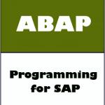 Programación SAP / ABAP