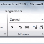 Tutorial en línea de Ms Excel 2010