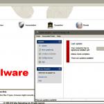 Eliminación de software Malware