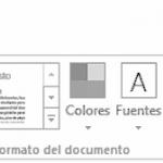 Tutorial: La ficha Diseño en Word 2013 / 2016 / 2019