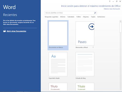Tutorial en línea de Word 2013 | Índice Tutoriales