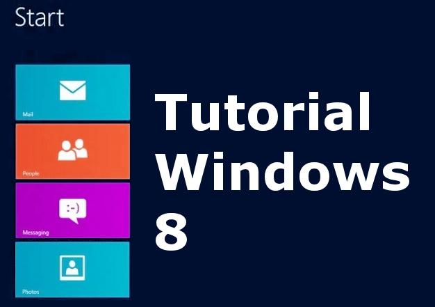 Cursos, guías, manuales y tutoriales de Windows 8