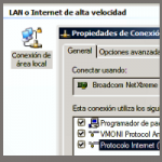 Tutoriales: Configurar IP fija