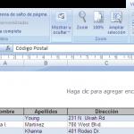 Impresión del libro de Excel