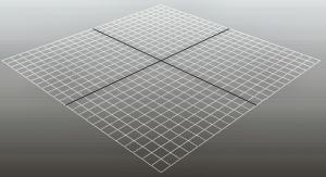 Espacio de trabajo 3D de Maya