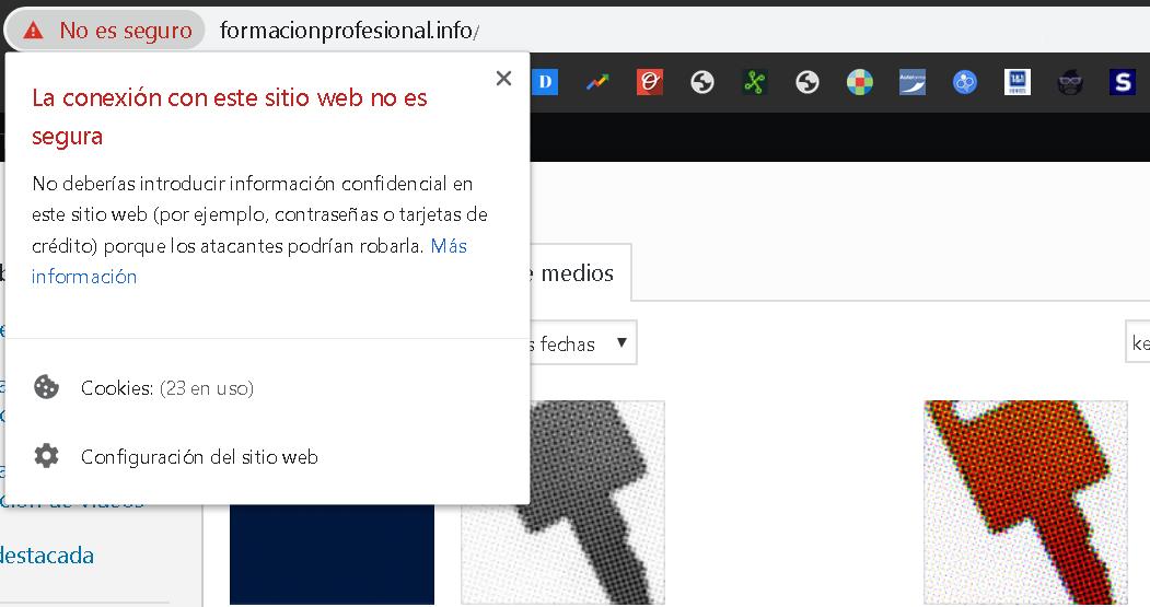 Conexiones con webs seguras