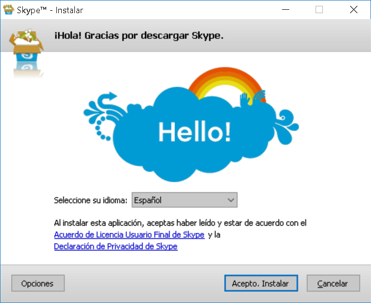 Tutorial de Skype