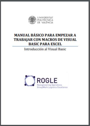 Manual Macros VB para Excel