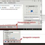 Navegación compacta en Outlook