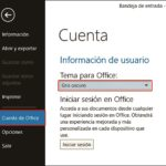 Seleccionar Temas en Ms Office