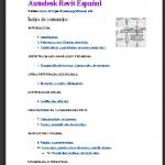 Manuales y guías de Audesk Revit en PDF