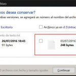 Copiar archivos en Windows 10