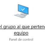 Grupo hogar en Windows 10