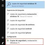 ¿Cómo hacer una copia de seguridad en Windows 10?