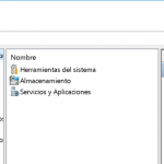 Administrador de equipos en Windows 10