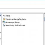 Administrador de equipos en Windows 10