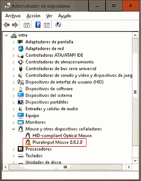 Dispositivos de windows
