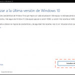 Actualizar Windows 10