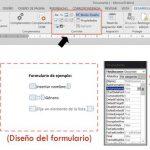 Diseñar Formularios en Word