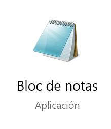 El nuevo Bloc de notas