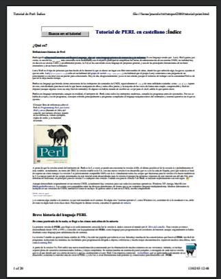 PDF: Tutorial de PERL en castellano