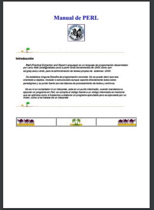 Tutorial PDF: Tutorial de PERL