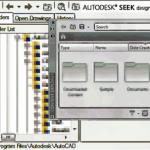 Design Center y Content Explorer de AutoCAD 2015