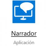 La aplicación NARRADOR en Windows 10