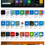Breve descripción de las Windows APPs