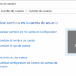 Perfiles de usuario en Windows 10