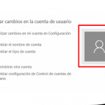 Perfiles de usuario en Windows 10