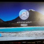 Inicio de sesión y apagar Windows 10.