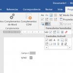 Texto de ayuda para formularios de Word 2013
