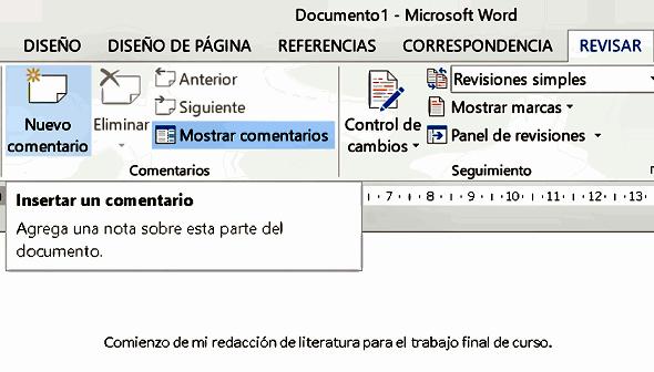 insertar_comentario_word_2013