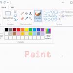 Microsoft Paint para Windows 10