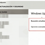 Buscar actualizaciones en Windows 10