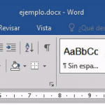 Tutorial de Microsoft Word 2016