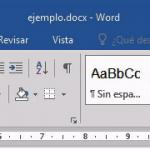 Tutorial de Microsoft Word 2016