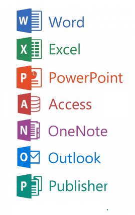 Componentes de Ms Office 2016