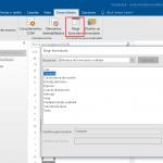 Personalizar formularios en Outlook