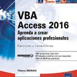 Bibliografía para programar VBA con Access 2016