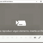 El Reproductor de DVD de Windows 10