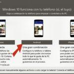 Complemento de teléfono en Windows 10