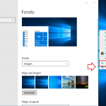 Desactivar animaciones y fondos en Windows 10