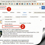 Descarga de eBooks gratis en Google