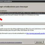 Servicio de actualizaciones automáticas de Ms Office