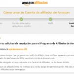 Tutorial del programa de afiliados de Amazon
