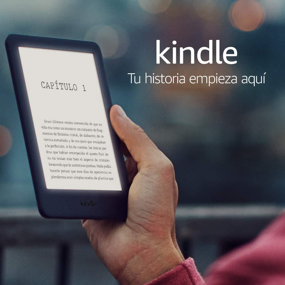 Nuevo Kindle con luz frontal integrada, negro
