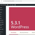 Notas sobre la instalación de WordPress
